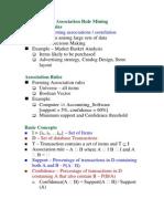 Data Mining-Association Mining 1