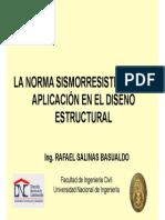 Norma NTE 030 Presentacion R Salinas