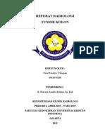 Referat Tumor Kolon_dr. Pherena Amalia Rohani, Sp. Rad