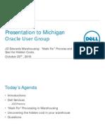 Dell Presentation- MOUG Warehousing