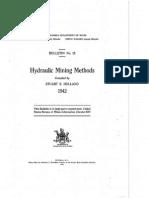Hydrauling Mining Methods