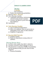 Data Mining- Bayesian Classification