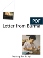 Letter From Burma by DASSK