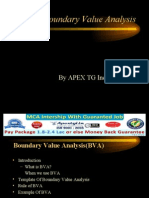 What is Boundary Value Analysis
