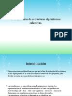 Identificación de Estructuras Algorítmicas