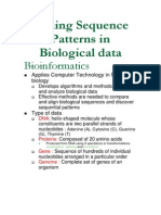 Data Mining-Mining Sequence Patterns in Biological Data