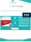 Cisco 300-115 Exam Questions - Quickly Pass 100 Percent