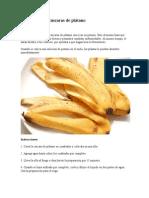 Fertilizante de Cáscaras de Plátano