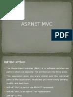 ASP.net MVC Presentation