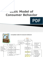 Basic Model of Consumer Behavior