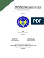 """Pengembangan Lks Ipa Berbasis Sets (Science, Environment, Technology and Society) Dengan Tema """"Biopori"""" Untuk Meningkatkan Sikap Peduli Lingkungan Dan Hasil Belajar Siswa Smp Kelas Vii Smp Negeri 2 Yogyakarta"""