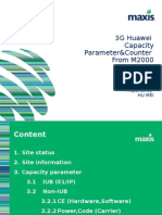 3G Huawei Capacity Parameter&Counter From M2000