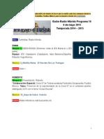 Radio Híbrido Programa 10 Temporada 2014-2015