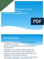Energy Lae II. Organisation of Petroleum Activity