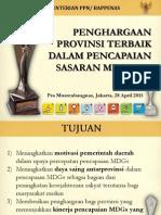 Penghargaan MDGs 2015