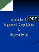 Adjustment Computations