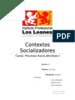 Contextos Socializadores Trabajo