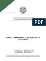 Codigo Familiar Para El Estado SLP