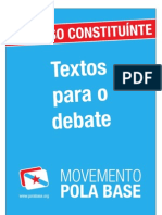 Movemento pola Base - Textos para o debate
