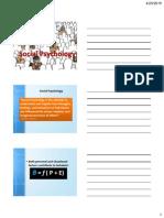 Lecture #16-Social Psychology (Spring 2015)-Handouts