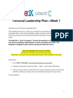 PersonalLeadershipPlan Template Week1