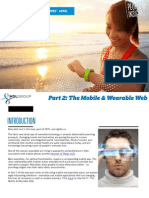 The Mobile & Wearable Web (Part 2) - People's Insights | April 2015
