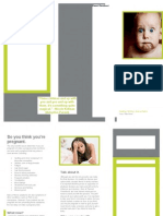 Unplanned Preg Brochure