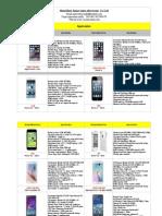 Mobilephone Price List
