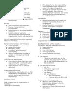 Organizing Plus Marketing in MSWord