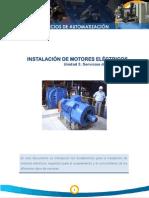 Instalacion De motores electricos