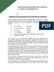 ME PhD Guidelines