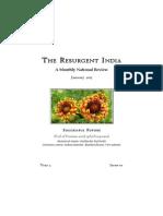 The Resurgent India January 2015