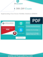 Cisco 300-209 Exam