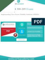 Cisco 300-209 Exam
