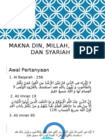 Din Dan Syariah