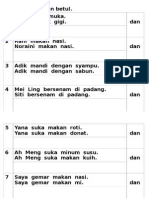Kertas latihan kata hubung