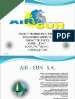 AIRSUN Presentation English Version