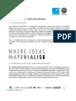 DSTAR Design Award 2015 Brief