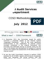 COSO Methodology 2012