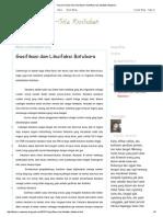 Tulisan Di Sela-Sela Kesibukan_ Gasifikasi Dan Likuifaksi Batubara