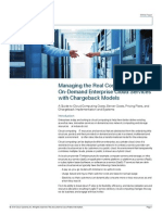 Cloud Services Chargeback Models White Paper