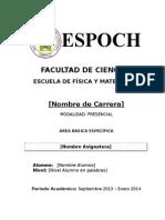 (0)Caratula Secundaria
