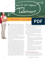 differentiation in the language classroom