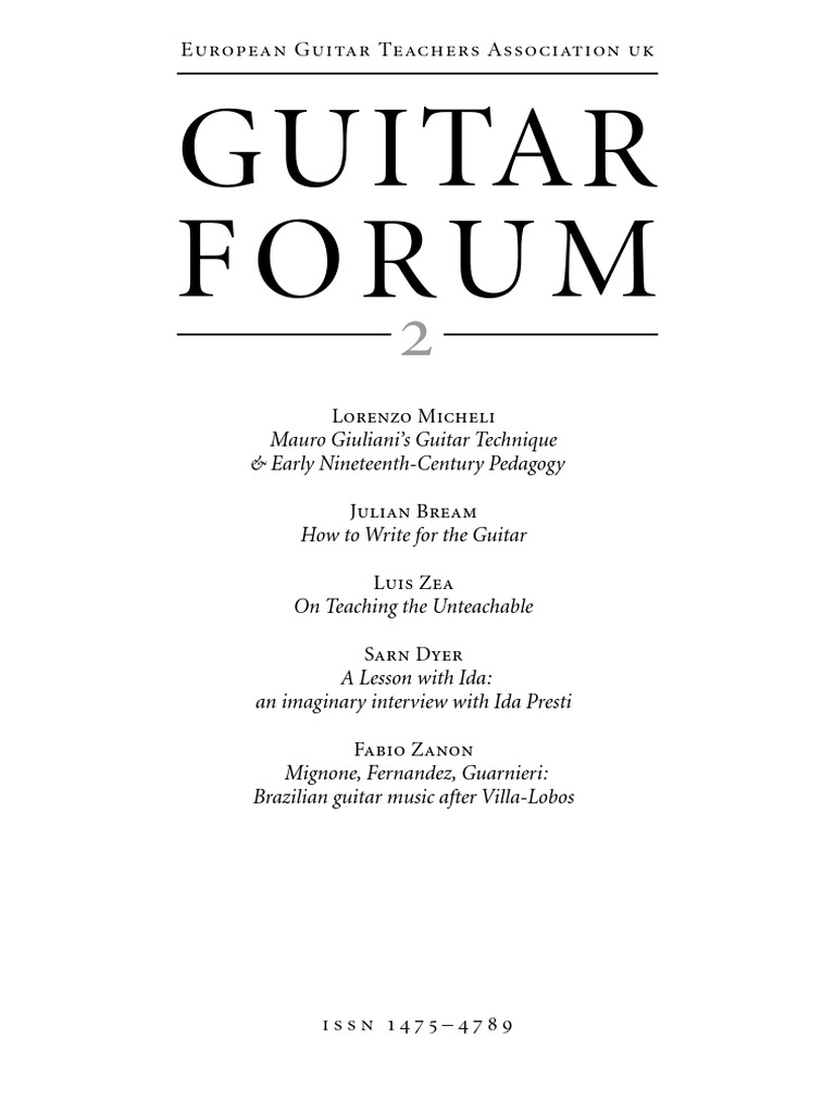 Guitar Forum 2 2004 String Instruments Harmony