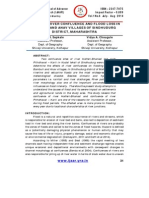 IMPACT OF RIVER CONFLUENCE AND FLOOD LOSS IN BAMBULI AND ANAV VILLAGES OF SINDHUDURG DISTRICT, MAHARASHTRA- by Sapkale,J.B. _ Vidya A. Chougule