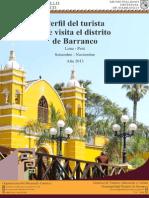 Perfil Del Turista Que Visita El Distrito de Barranco