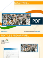Textiles and Apparel August 2014