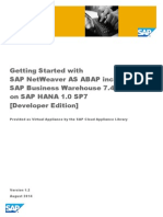 Getting started with SAP ABAP HANA