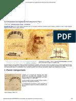 Los Seis Puentes Mas Ingeniosos de Leonardo Da Vinci _ Estructurando