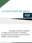 Accounts receivables management